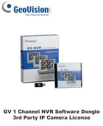 Genuine Geovision 1 Channel 3rd Party NVR IP Software