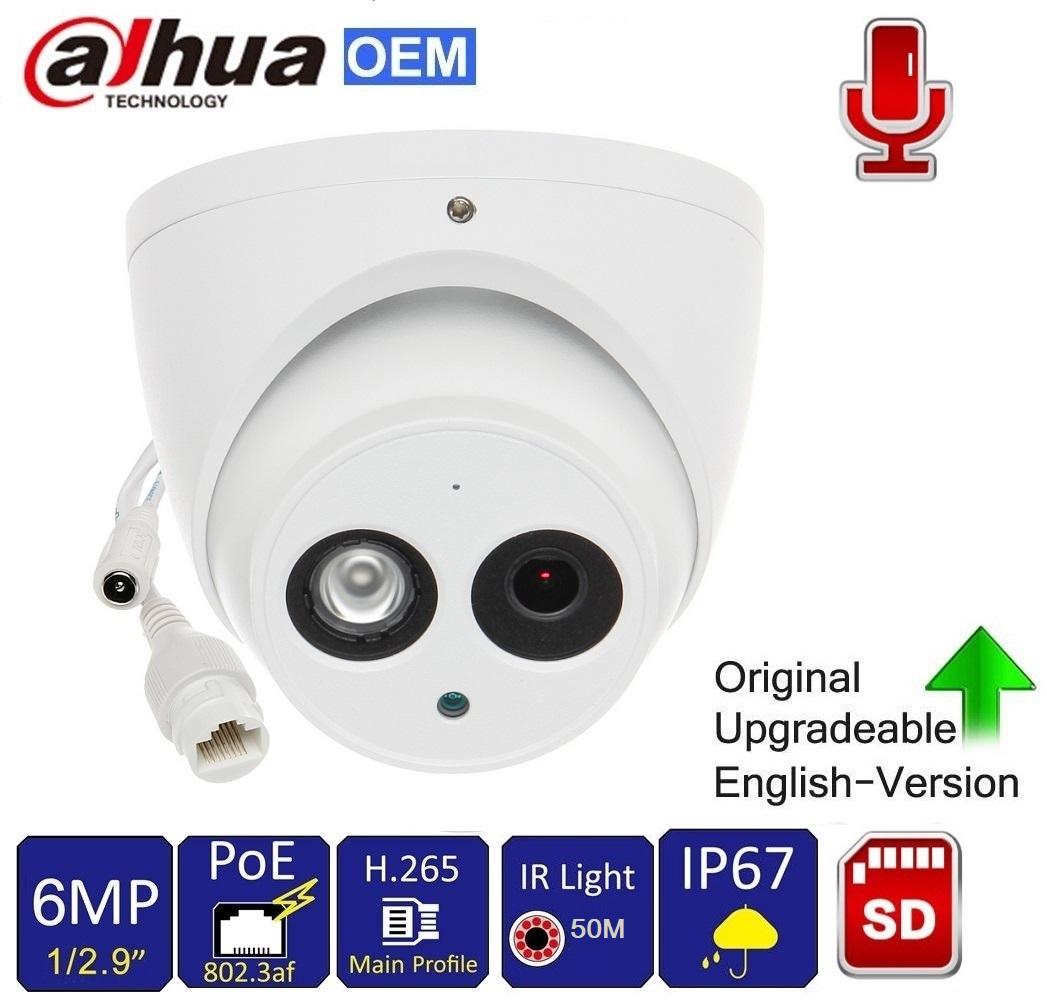 Dahua OEM IPC-HFW1421S  IP66 Outdoor POE IP IR Bullet Camera 4MP 1080P HD