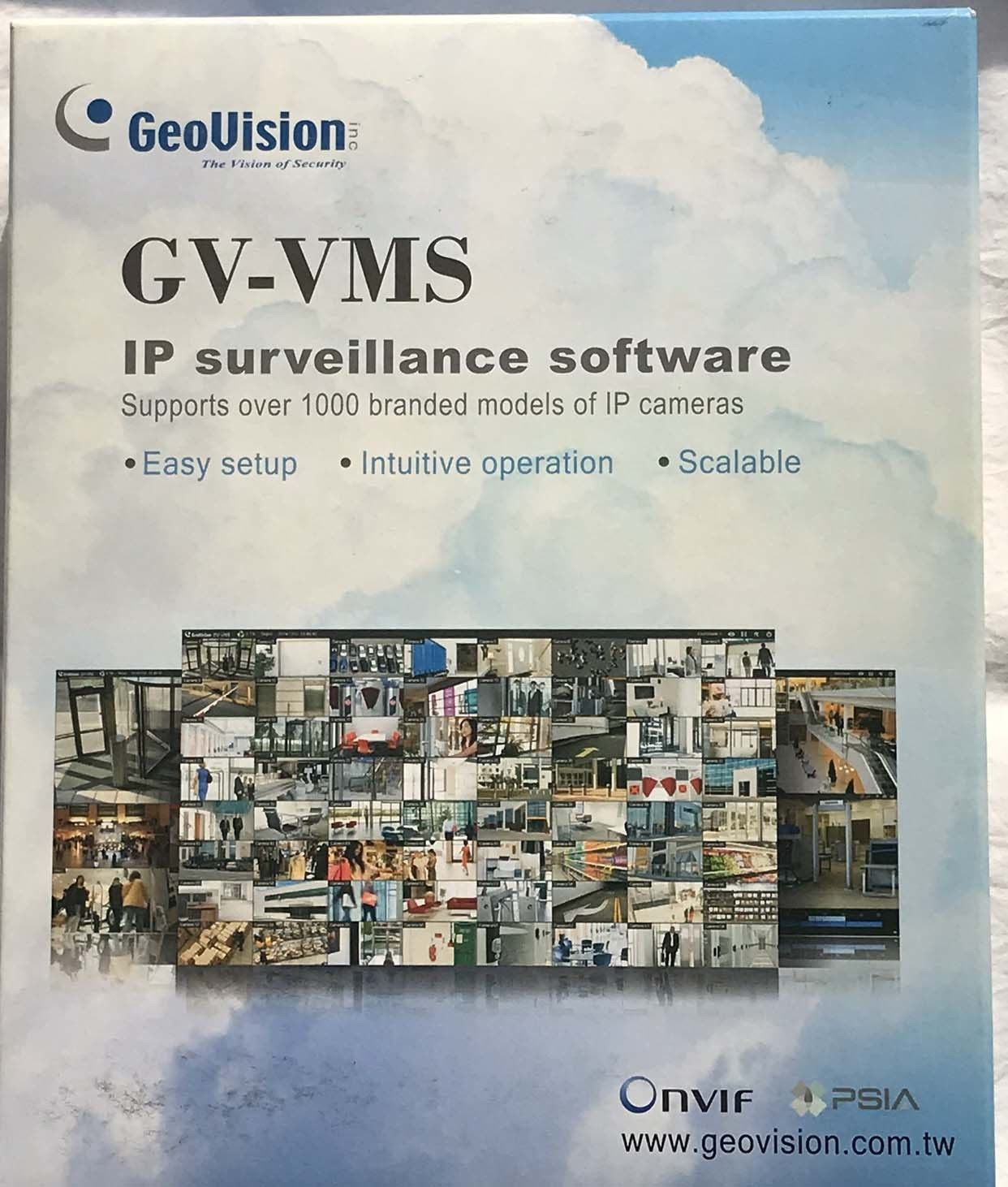 Genuine Geovision 2 Channels GV-VMS-3rd Party IP Camera License