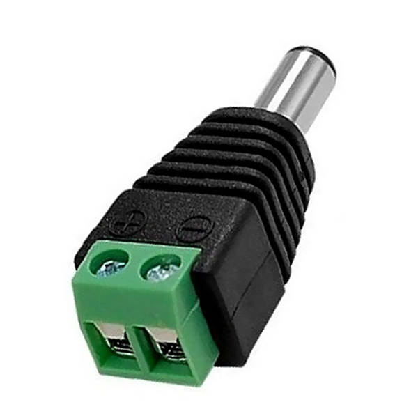 2.1 x 5.5mm DC Power Male Jack Connector - Click Image to Close
