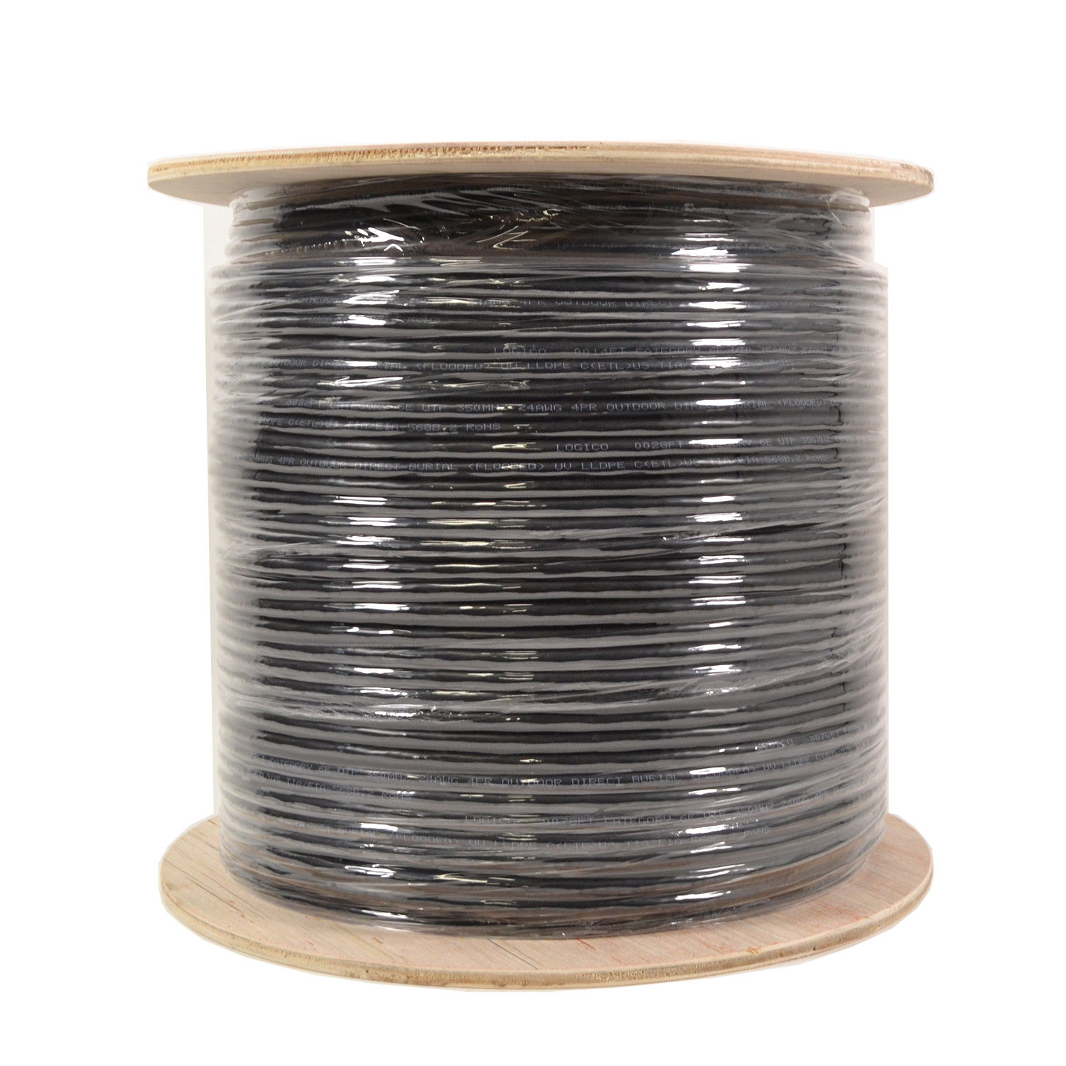 500FT CCTV CAMERA WIRE RG59 COAX//RS485//POWER PTZ DATA 18//4 SIAMESE CABLE