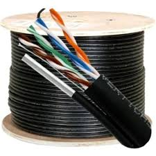 OUTDOOR Cat5 Cable 1000ft UTP FTP Ethernet Solid CAT5 DIRECT Bur